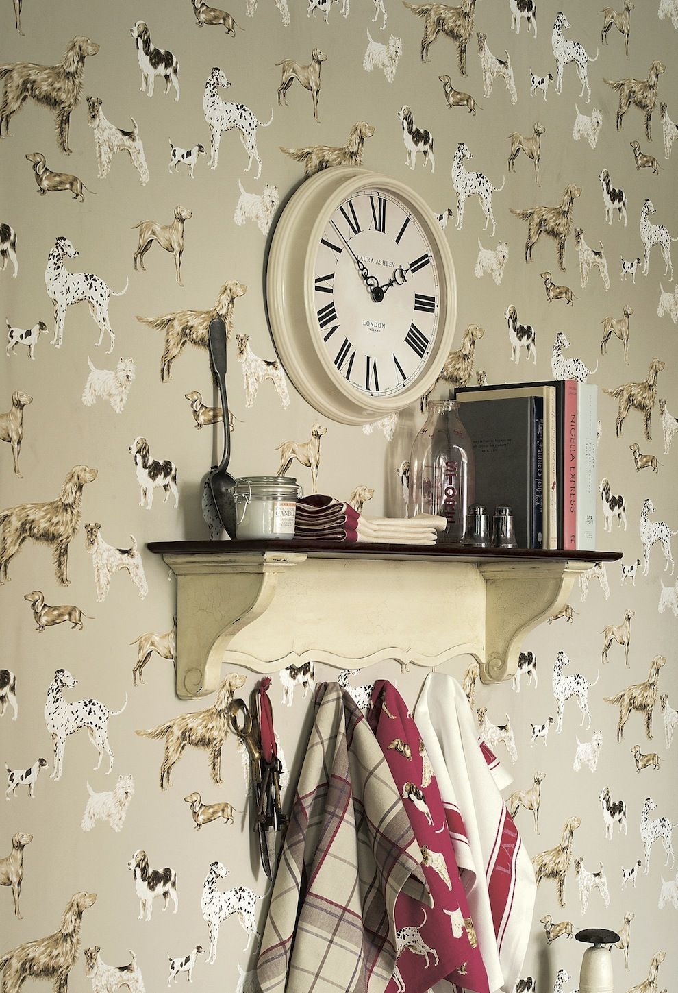 Choosing The Perfect Clock Laura Ashley Wall Papers And Dog