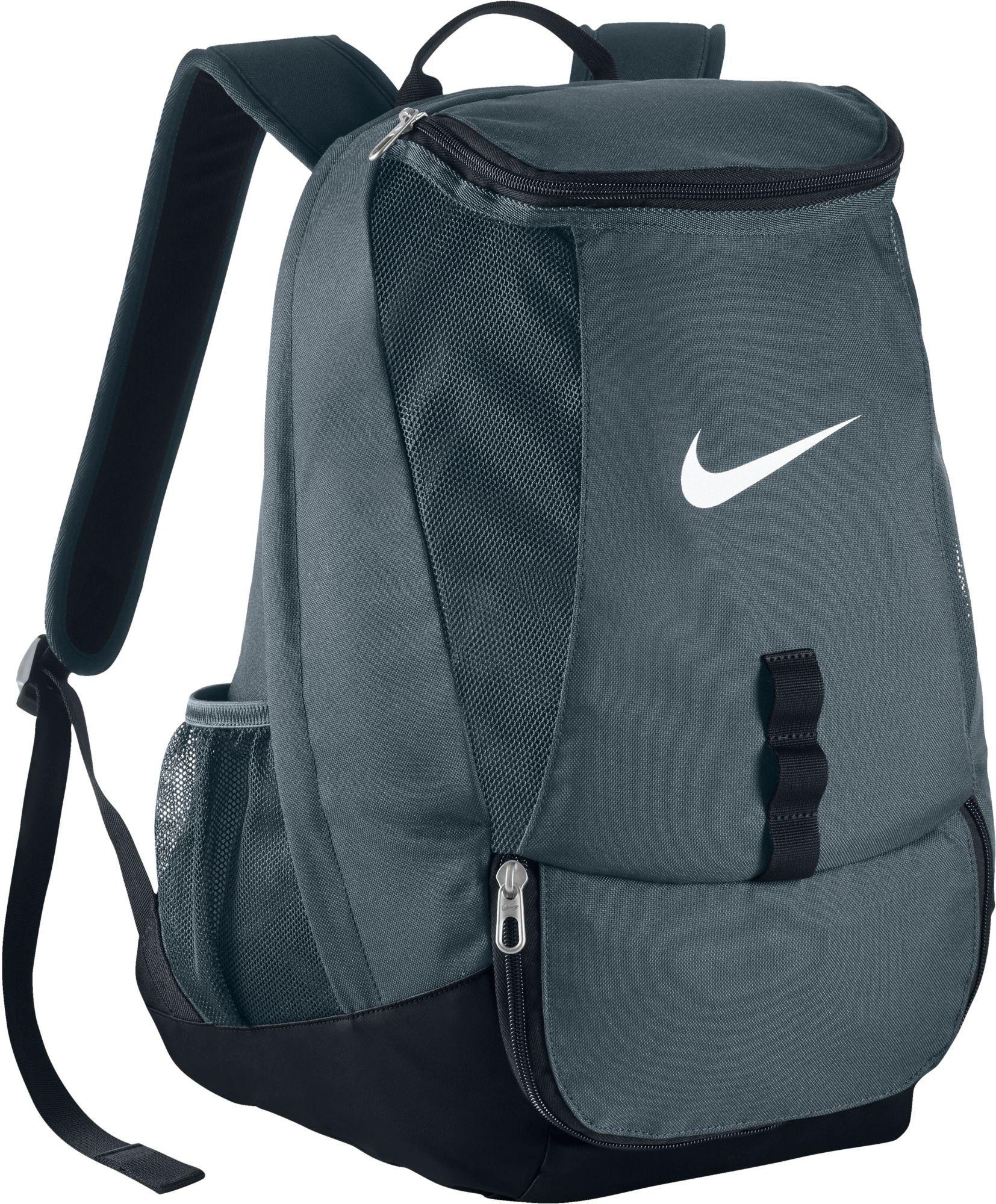 c64ab972448 Nike Club Team Swoosh Soccer Backpack, Gray Nike Club Team Swoosh Soccer  Backpack Basketball Equipment