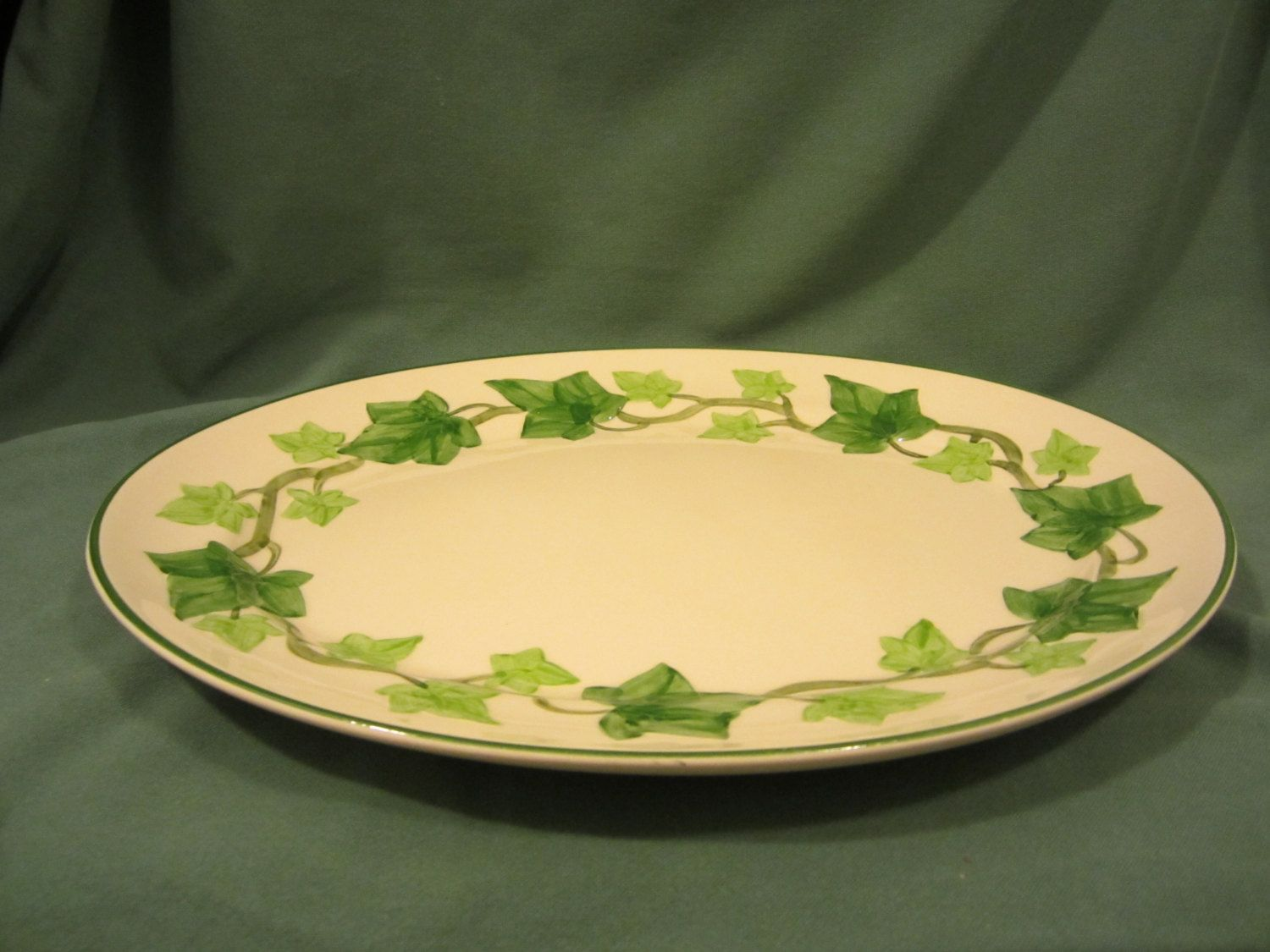 Vintage Franciscan Ware Ivy Pattern, Dinner Plate, This is The Same China  Pattern As Seen In