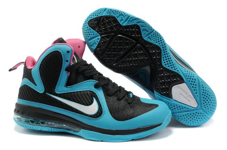detailed pictures 424ab d13cb New Lebrons Lebron 9 south beach Black Blue Moon Peach 469764 004 i  like.50% off.