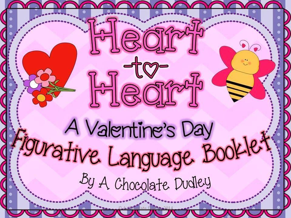 Valentine S Day Linky Party Figurative Language Valentine Lessons Valentines