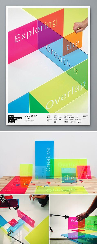 san francisco design week poster by Manual Creative