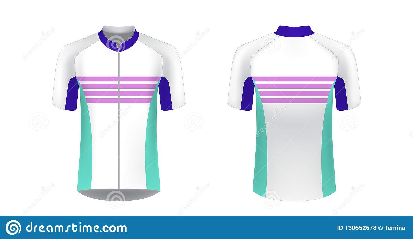 Download Cycling Jersey Mockup Stock Vector Illustration Of Front Pertaining To Blank Cycling Jersey Templa Professional Templates Cycling Jersey Design Cycling Jersey