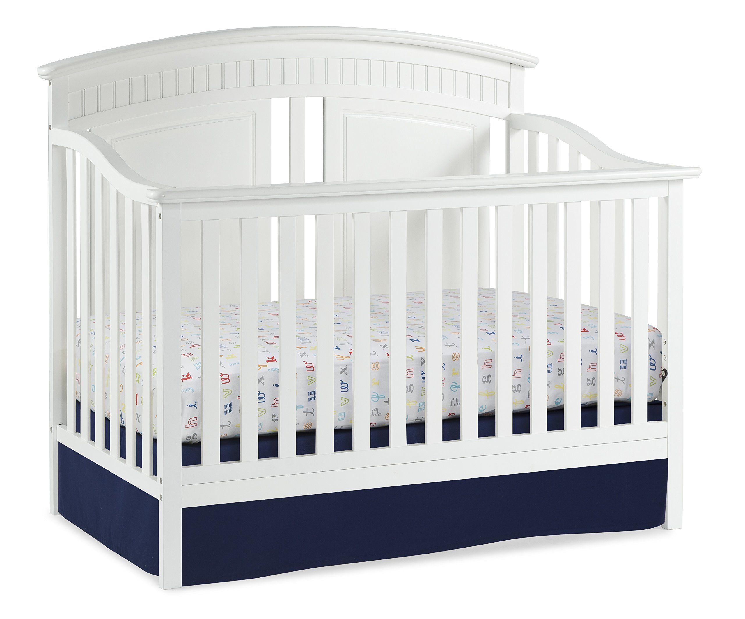 Thomasville Kids Majestic 4-in-1 Convertible Crib, White. Crib ...