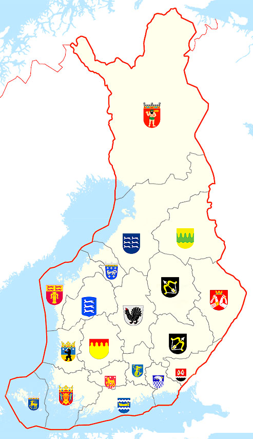 See our interactive map of the 19 regions of finland and find out see our interactive map of the 19 regions of finland and find out about the characteristics of each region gumiabroncs Images