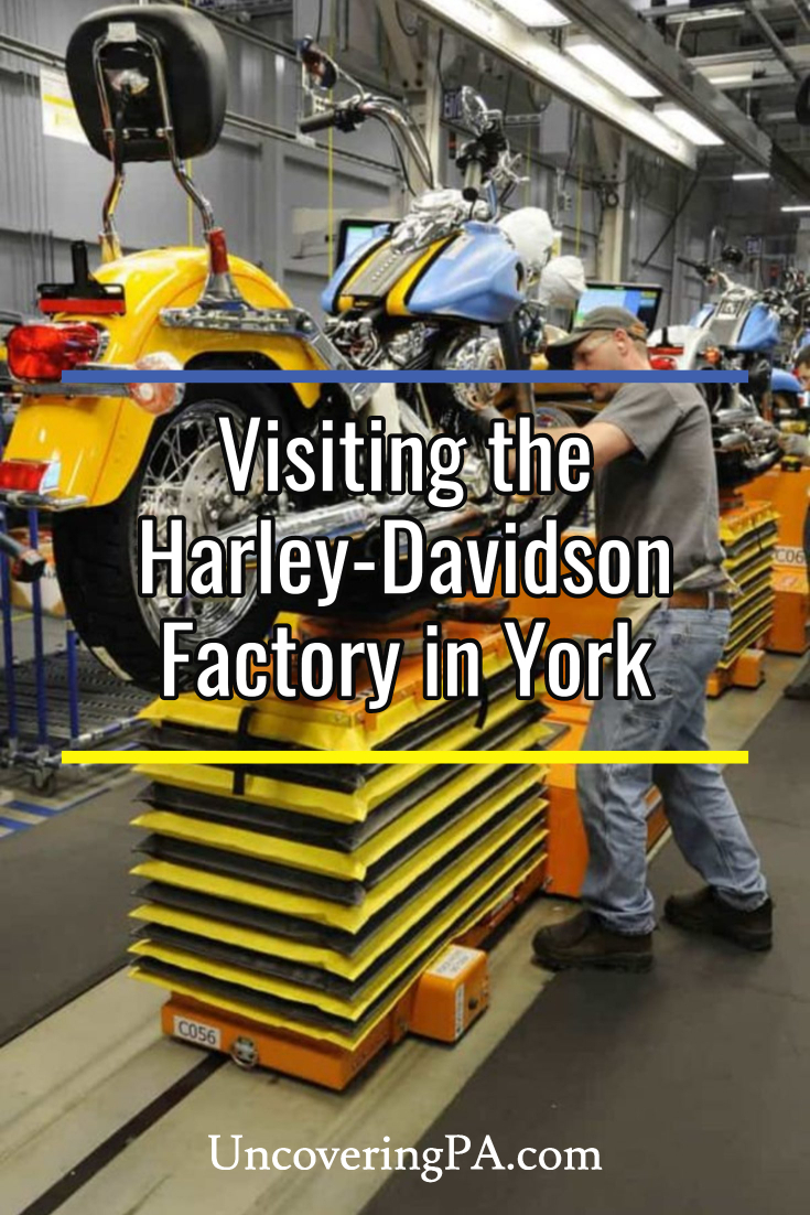 Learning How Motorcycles Are Made At The Harley Davidson Factory