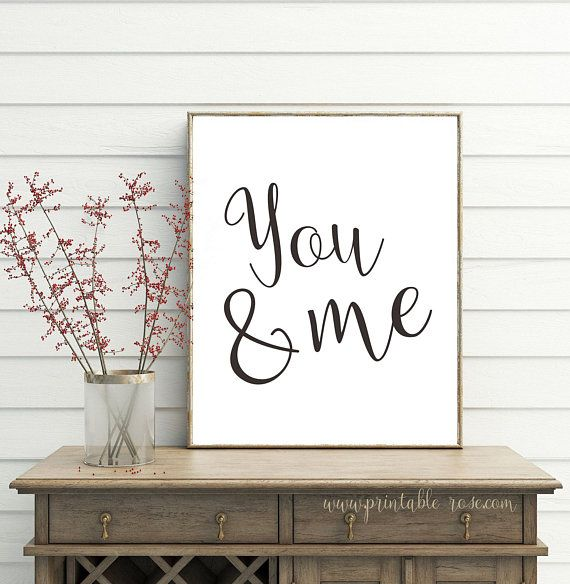 Best You And Me Wall Art Farmhouse Bedroom Wall Decor Gallery 400 x 300