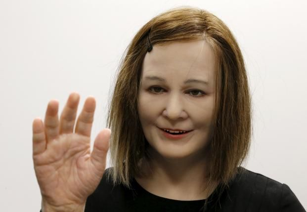 Now You Re Talking Human Like Robot May One Day Care For Dementia Patients Human Like Robots Human Pictures Skin So Soft