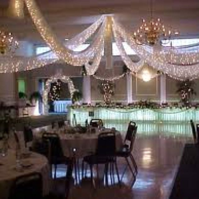 tent+decorations+with+tulle | Interior tent decorating...just ...