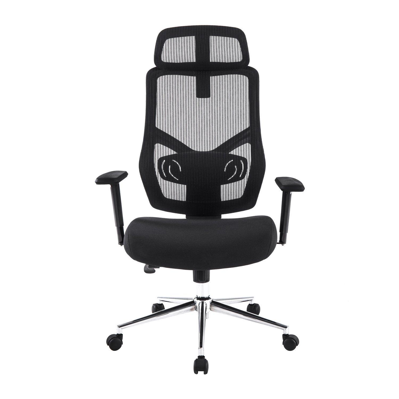 LCH Ergonomic Mesh Desk fice Chair Adjustable Seat Slider back