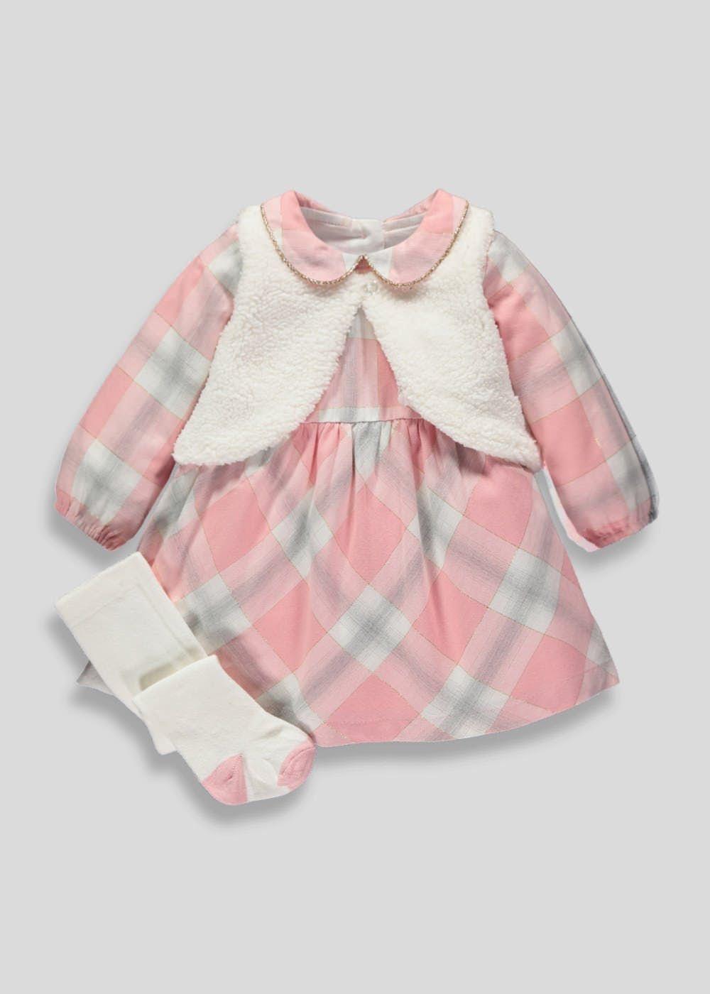 5de07960a91 Girls Dress Shrug   Tights Set (Newborn-18mths) – Matalan