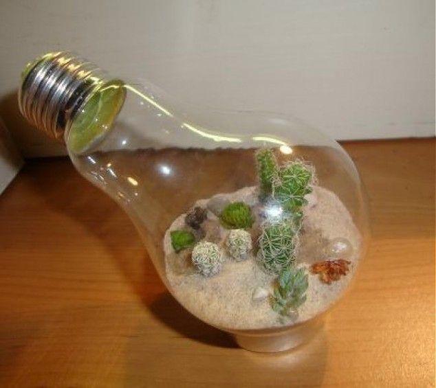The 28 Most Creative Ideas Which Could Inspire You Light Bulb Terrarium Light Bulb Jar Light Bulb Crafts