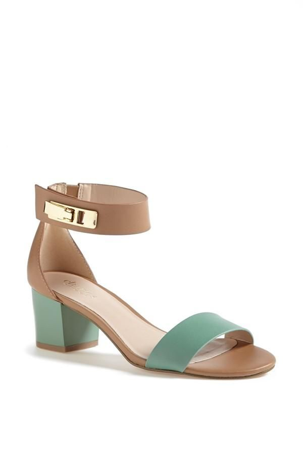 Love these mint sandals!