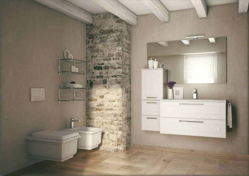 Rendering per catalogo arredo bagno dressy neiko per idea group