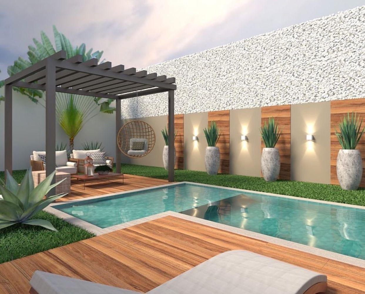 Swimming Pool Idea Luxury Garden Design Small Backyard Pools Small Pool Design Backyard modern pool ideas