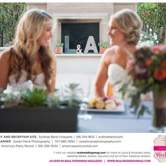 Cute Lesbian Couples, Wedding Magazine
