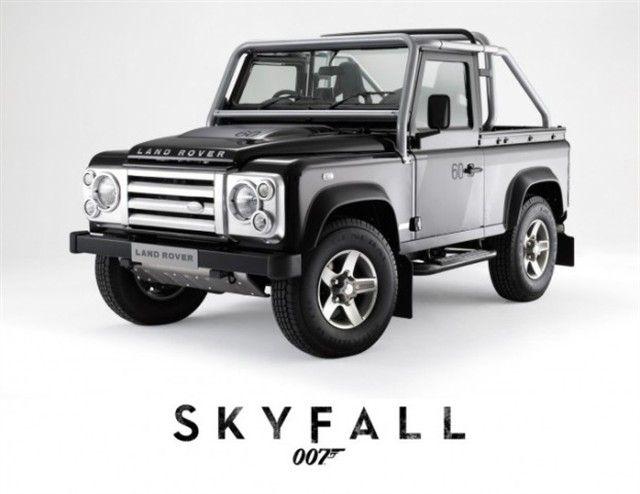 Land Rover Defender Skyfall