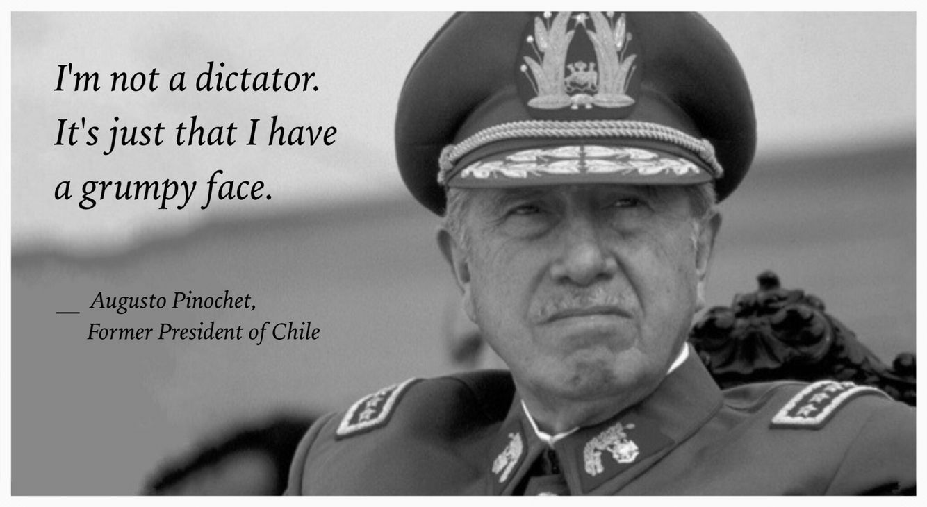 Image result for augusto pinochet