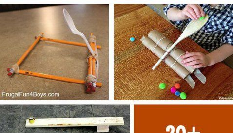 20+ Creative and Instrutive DIY Catapult Projects for Kids