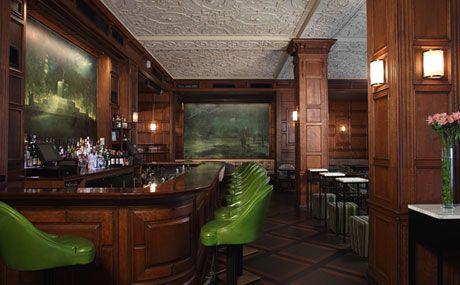 Hotel Bars In New York City Oak Room At The Plaza Bar