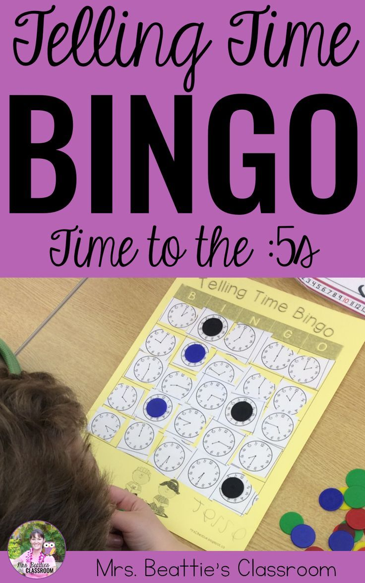 Telling time time to the 05s game blank bingo cards bingo telling time time to the 05s game solutioingenieria Gallery