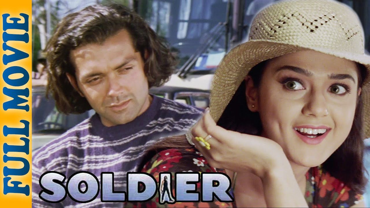 Soldier (1998) | Rakhee Gulzar, Bobby Deol, Preity Zinta | HD | Full Movie | Captain Vijay Malhotra (Pankaj Dheer) attempts to defend himself when corrupt army officials, Pratap Singh (Suresh Oberoi), Virender Sinha (Dalip Tahil), and Jaswant Dalal (Salim Ghouse), intercept a truck-load of arms and ammunition, with the help of Virender's brother, Baldev (Sharat... | http://masalamoviez.com/soldier-1998/
