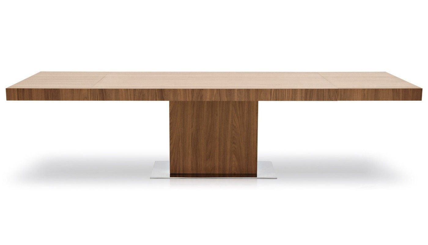 Etonnant Calligaris Park Extending Dining Table In Walnut