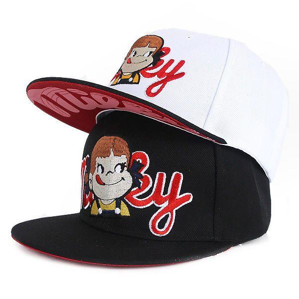 70d4bf51d39 Womens Fujiya Milky Snapback Caps Unisex Mens Flat Bill Baseball Fashion  Hats  Unbranded  BaseballCap