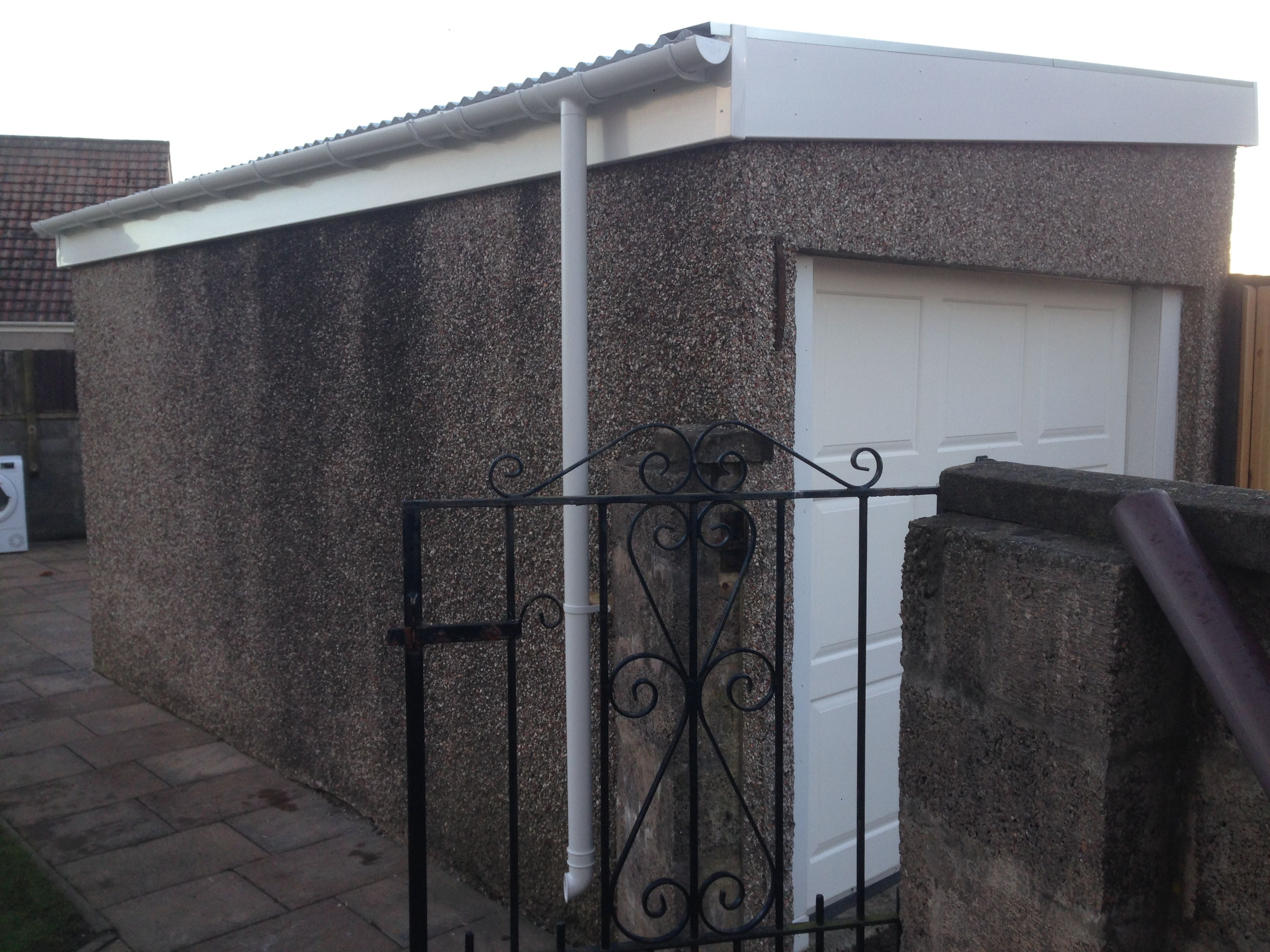 New Garage Roof By Garage Roof Scotland Roofing Systems Replace Roof