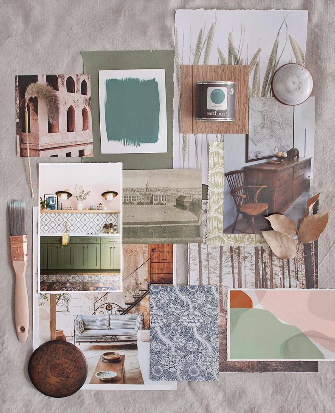 How To Plan & Create Mood Boards | The Lovely Drawer
