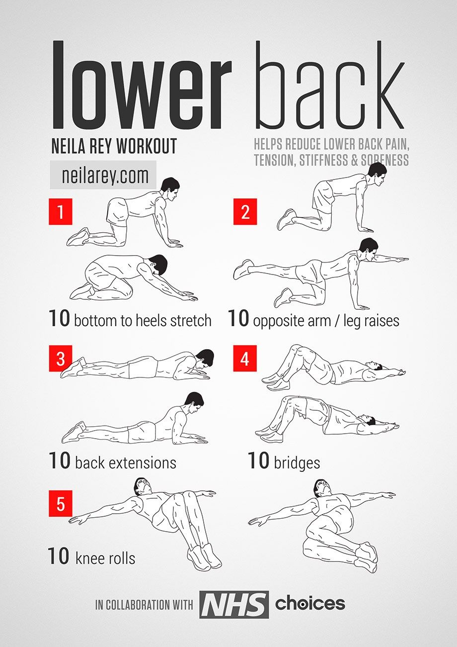 Etwas Neues genug Pin by Lori Mcclintock on Low back | Pinterest | Back exercises @NC_61