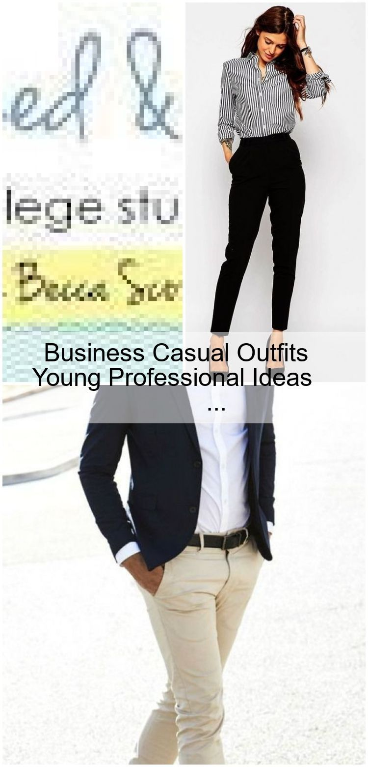 Business Casual Outfits Young Professional Ideas #businesscasualoutfitsyoungprof...