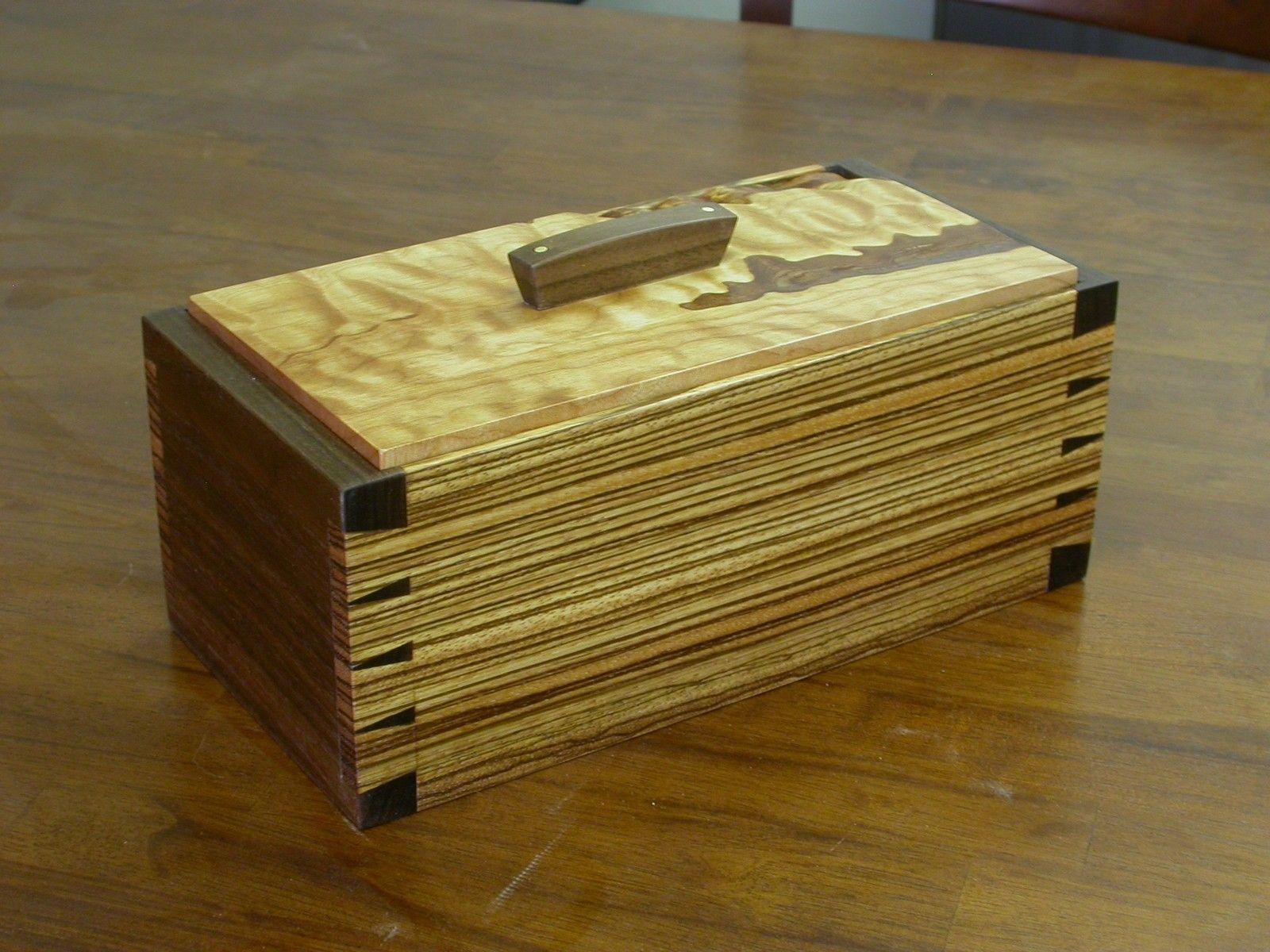 zebra wood box | small woodworking projects | small wood box