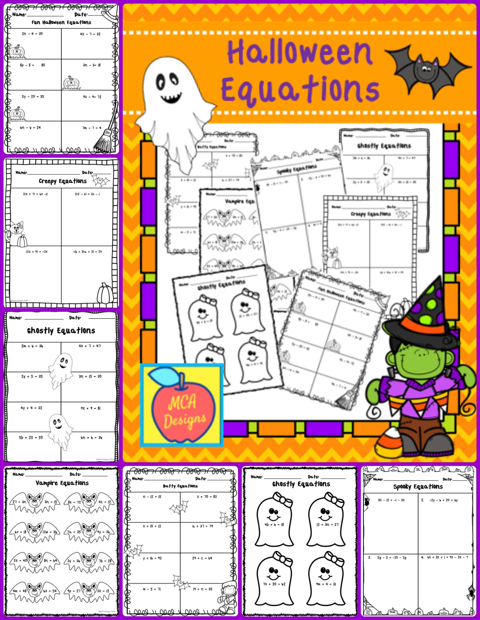 Halloween Equations October
