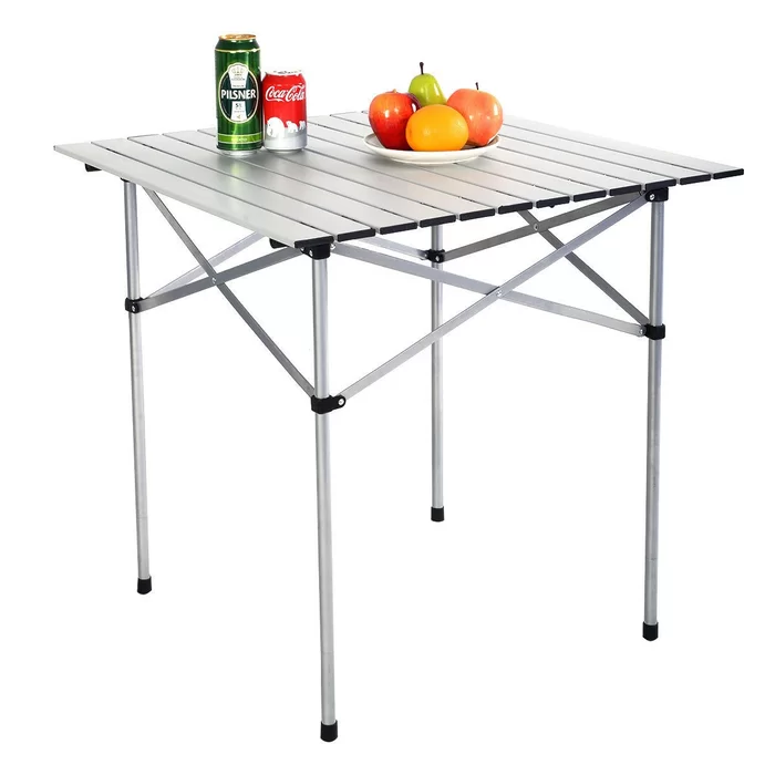Janae Folding Camping Table In 2020 Camping Picnic Table Folding Camping Table Camping Table