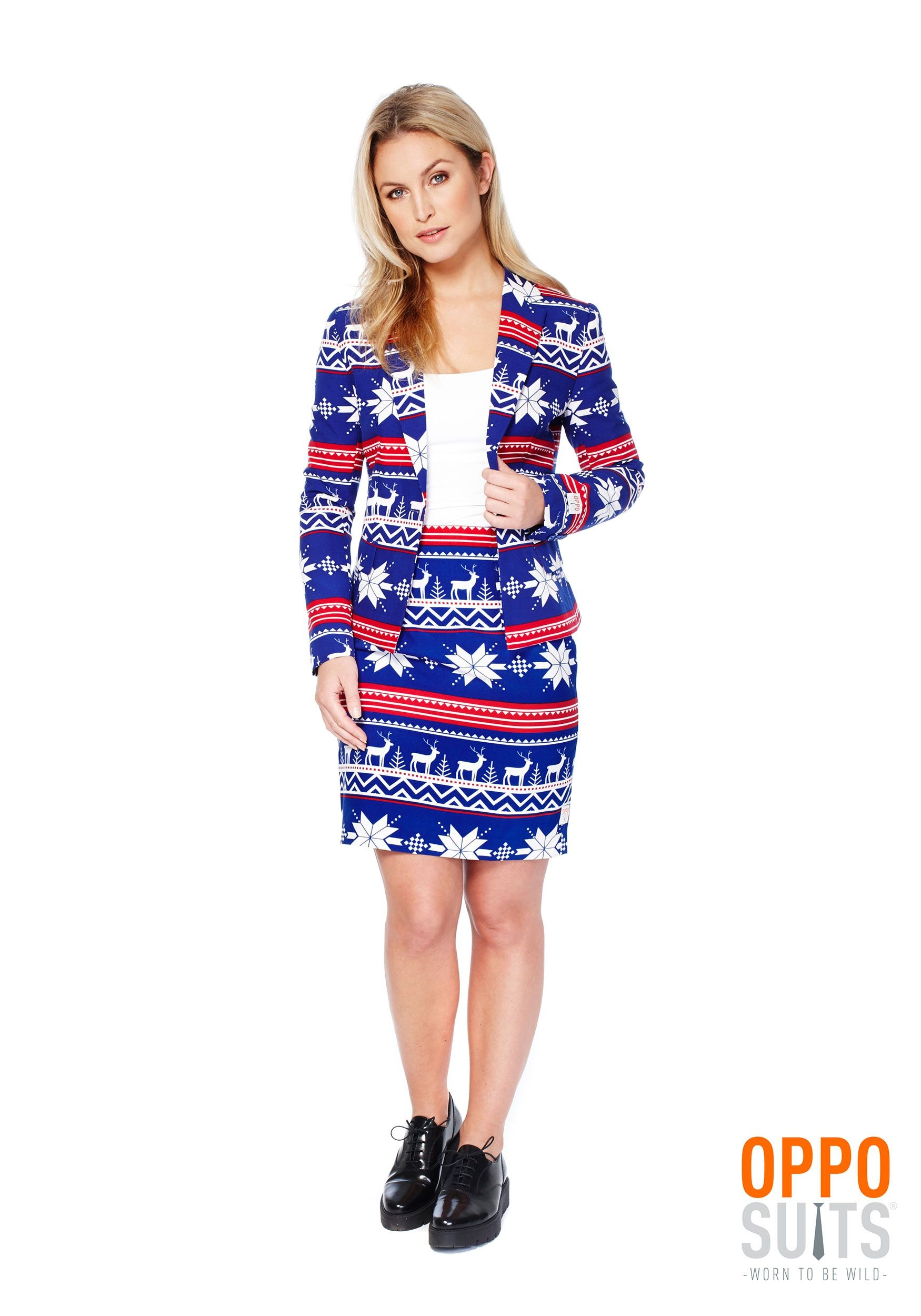Christmas Additional tips Women\'s Ugly Christmas Sweater OppoSuit ...