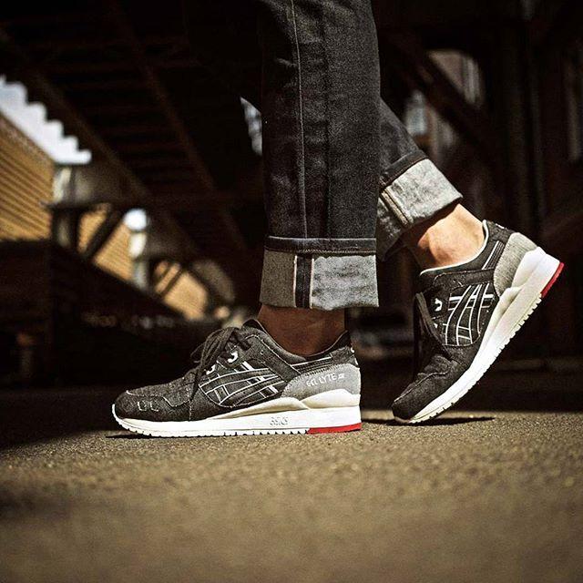 Indigo for the toe, ASICS Okayama Denim Pack via @slktn #sneakerfreaker…