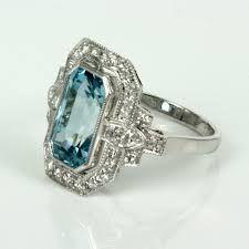 aquamarine ring - Google Search