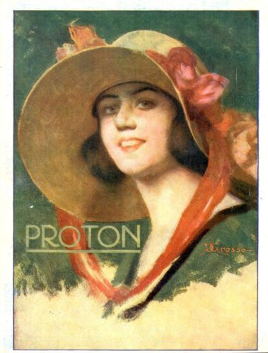 Pubblicita-PROTON-anni-20-Grosso-Advertising-Publicity-werbung-reklame