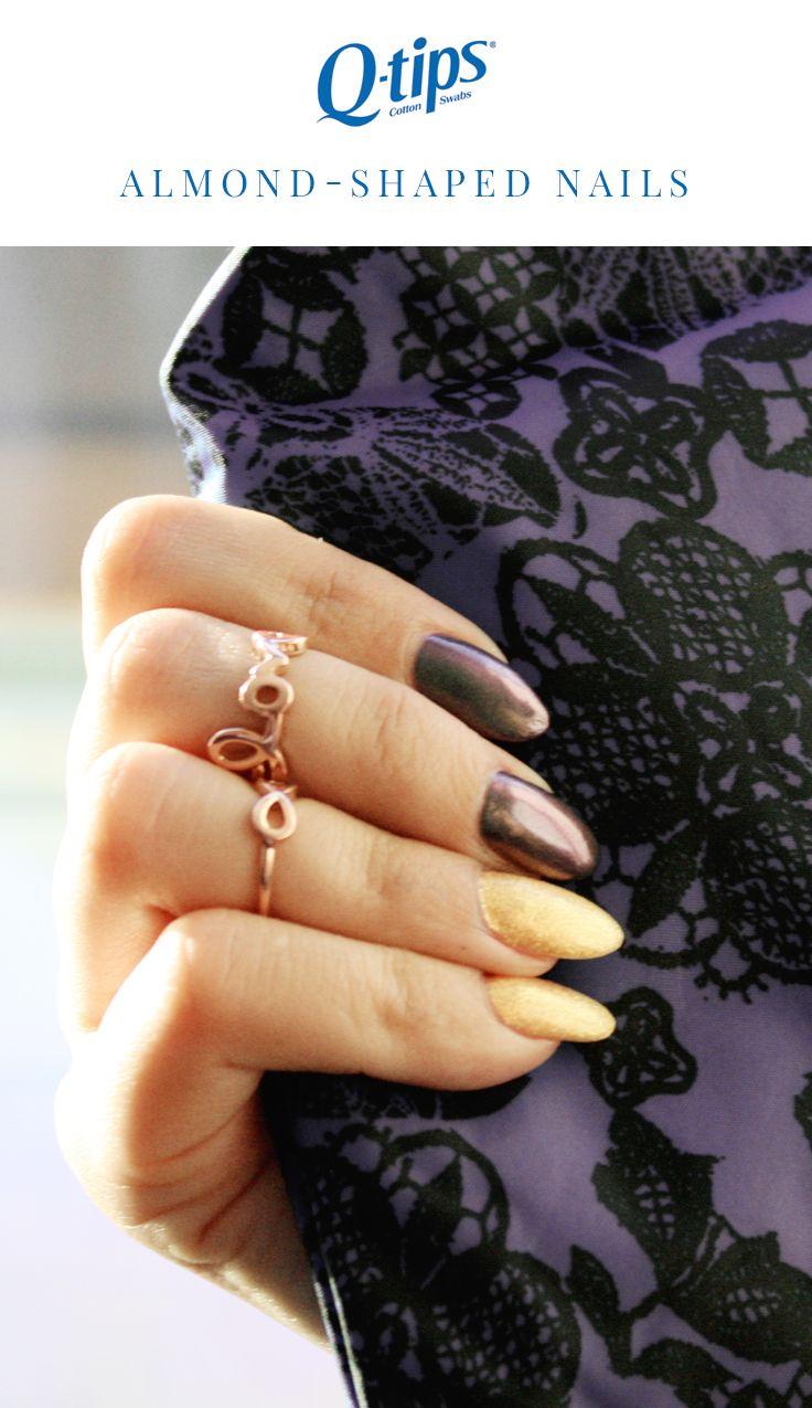 Qtips Hacks Nail shapes, Different nail shapes, Nails