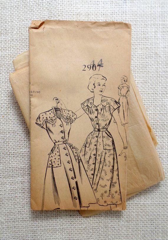 Vintage Pattern Mail Order Clotilde 2967 by momandpopcultureshop