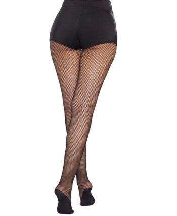 78b17b6ae1fa22 Plus Size Fishnet Pantyhose With Solid Foot in 2019 | Products ...