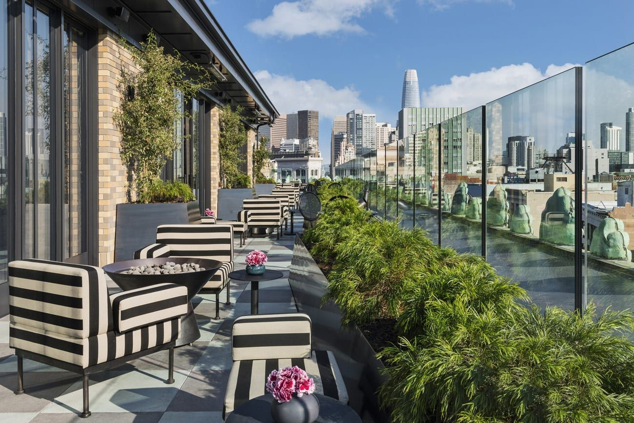 Summer Hotel Packages San Francisco Proper Hotel In 2020 San Francisco Hotel Hotel Rooftop Bar
