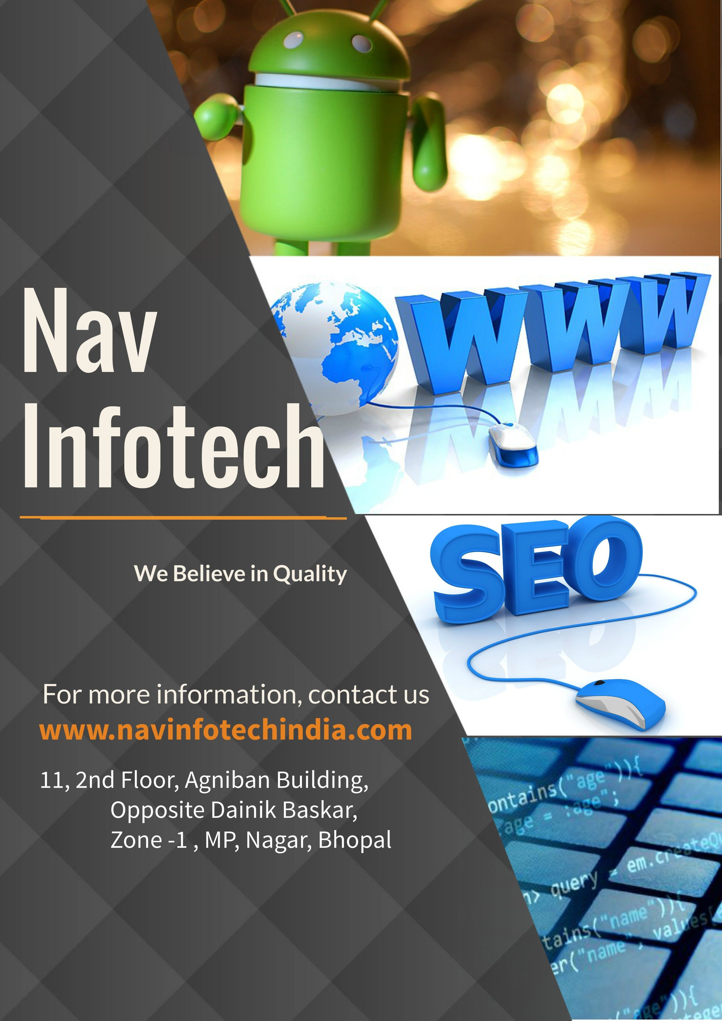 Nav InfoTech vision is to be a trusted and reliable IT