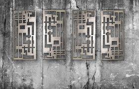 Extra large metal wall art