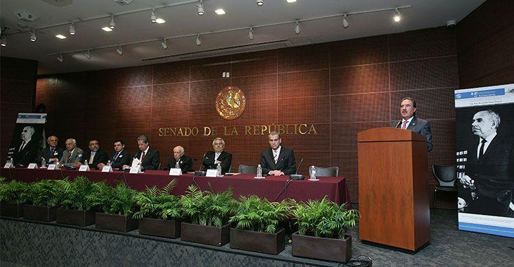 Reconoce senado legado del arquitecto politécnico Reinaldo Pérez Rayón