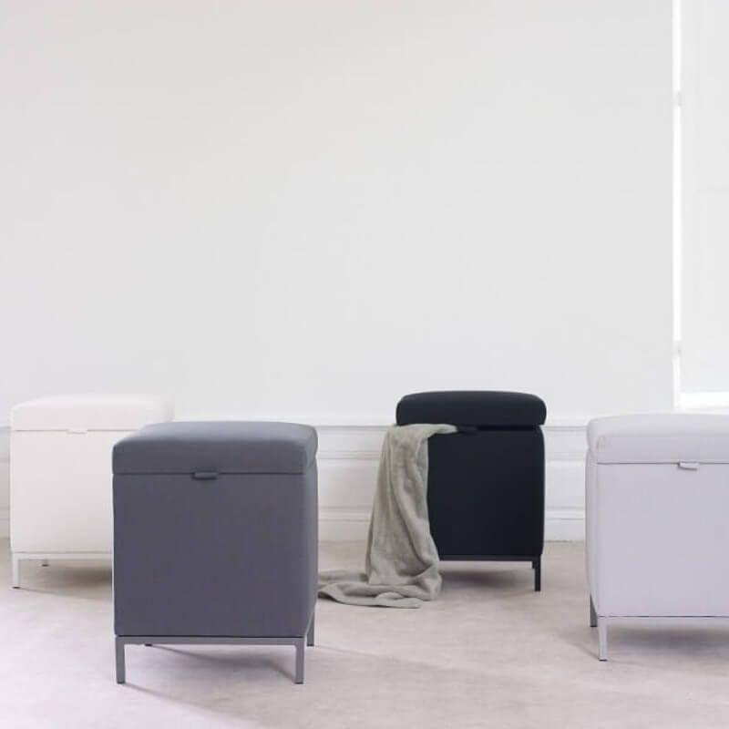 Design Badezimmer Wäschekorb Modern