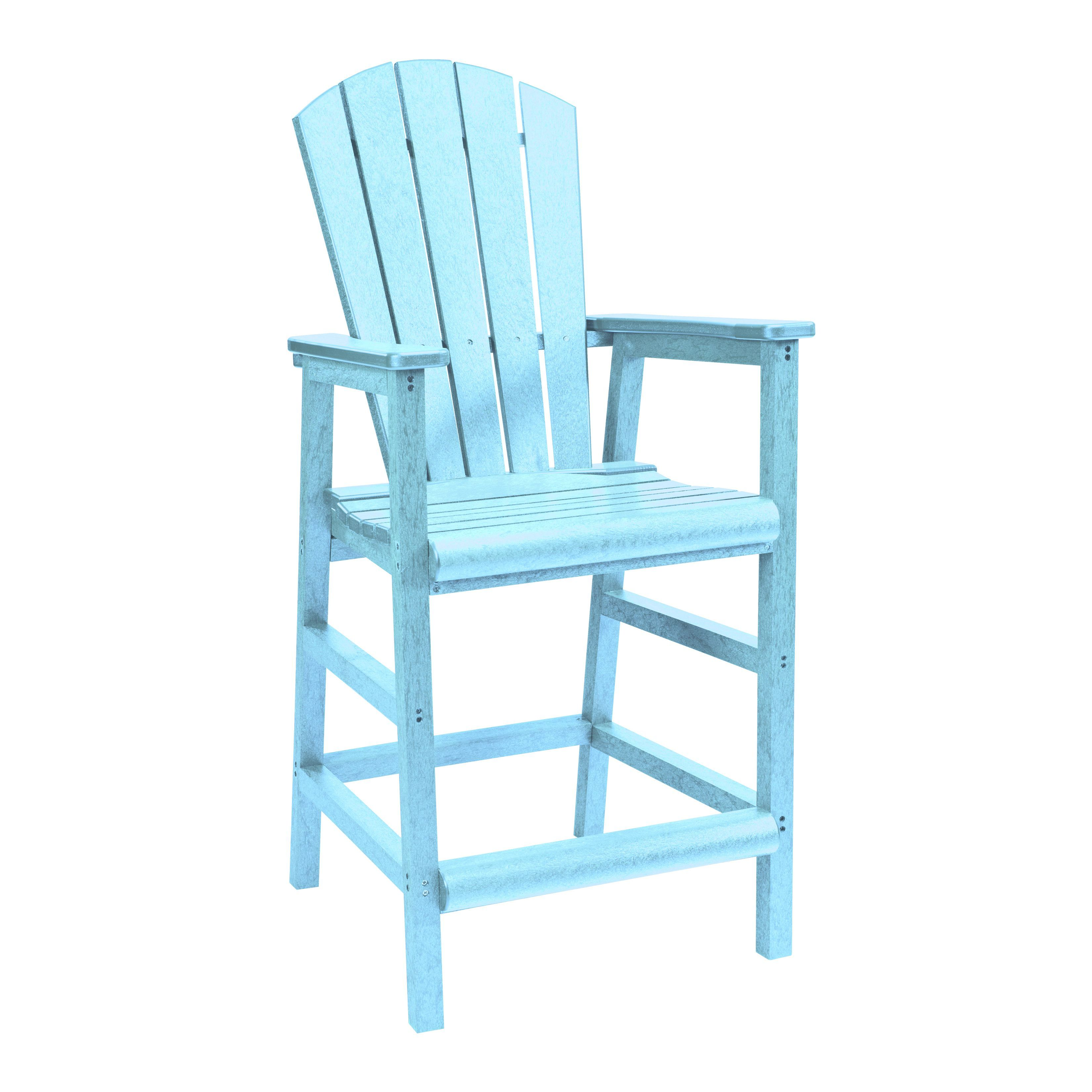 Aqua Dining Chairs Generations Aqua Dining Adirondack Style Pub Arm Chair Products