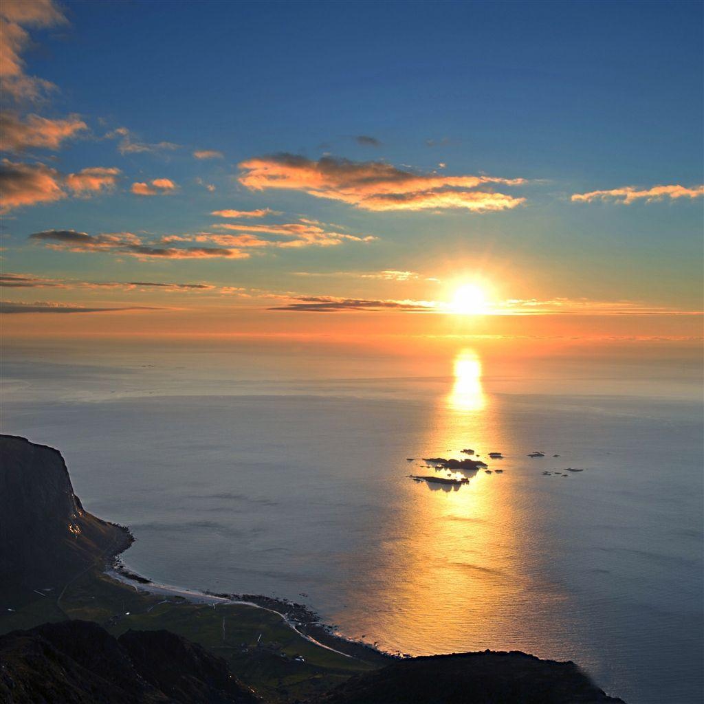 Spectacular sea landscape ipad air wallpaper retina - Spectacular wallpaper ...