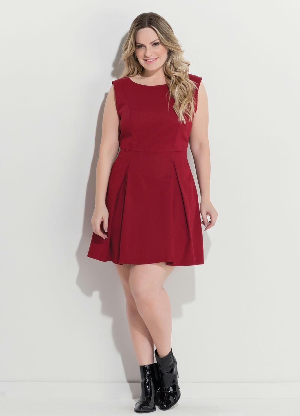 396797ce9 Vestido marsala: 70 modelos para você arrasar com a cor que é tendência